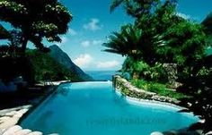St. Lucia is a resort island