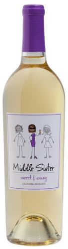 Middle Sister Wine - has my stamp of approval.