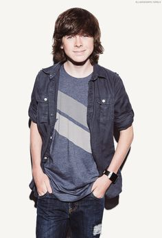Chandler Riggs, San Diego Comic Con 2014 By Cherie Roberts
