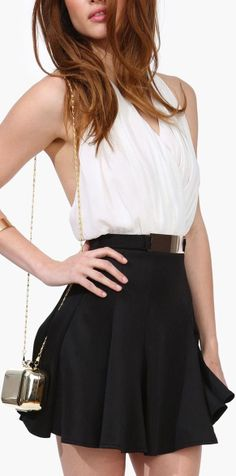 Halter Chiffon Dress ♥