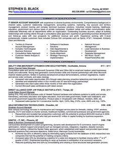 How To Write An Executive Resume Marketing Resume Will Be All About On How A Person Can Make The .
