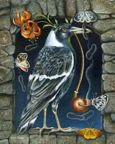 That Silent Night of Luck by Janie Olsen. Anyone know what kind of bird this is?