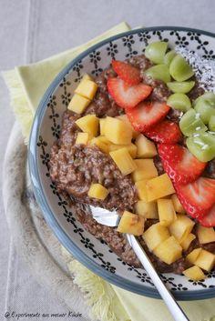 Experimente aus meiner Küche: Zoats - Schokoladenporridge