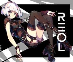 REOL Sigma by funky-tofu on DeviantArt Manga Art, Anime Art, Character Inspiration, Character Design, Manga Characters, Japanese Artists, Hatsune Miku, All Art, Kawaii Anime