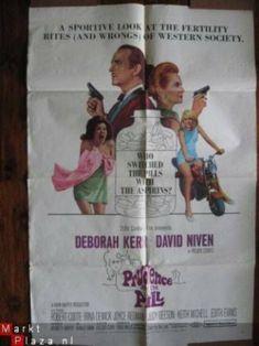 Authentic movie poster Deborah Kerr - David Niven - 1968 David Niven, Deborah Kerr, Acceptance, The Twenties, Fox, Learning, Antiques, Movie Posters, Ebay
