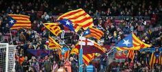 Les entitats sobiranistes repartiran 30.000 estelades al partit Barça-Cèltic al Camp Nou, 12.09.2016