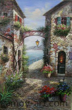 Resultado de imagen de guido borelli oil paintings