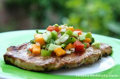Grilled Spicy Beer-Brined Grilled Pork Loin Recipe. #grillingrecipes # ...