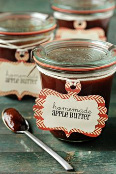 slow cooker - apple butter