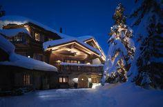 St. Moritz, Switzerland. Lighting design by Pollice Illuminazione