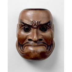 Noh mask - cf. Toshiro Mifune in Throne of Blood