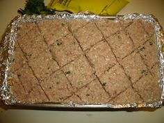 Pooka's What's for Dinner: Baked Kibbeh (Middle Eastern Meat Loaf)