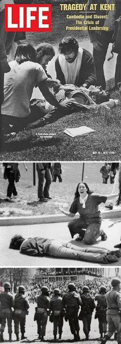 Monday, May The Kent State Massacre — Kent State University, Ohio National Guardsmen shot four unarmed students to death and wounded nine others during a student protest of the Vietnam War. Student Protest, Kent State University, Forget, Historical Photos, Historical Artifacts, Life Magazine, Vietnam War, Thing 1, World History