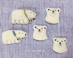 樹懶爬上我的耳機線啦!日本療癒系手作羊毛氈別針 | 可愛 | 妞新聞 niusnews