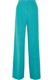 EtroSilk crepe de chine wide-leg pants