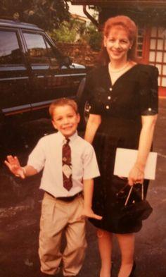 Joshua and Grandma 1995