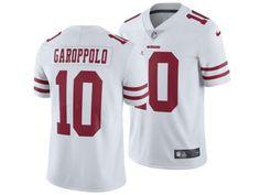 72f724d34f6 San Francisco 49ers Jimmy Garoppolo Nike NFL Men s Vapor Untouchable Limited  Jersey