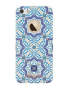 Trendigt mobilskal för iPhone 5/5s/SE Marockanska mönster har momentum just nu…