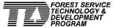 Forest Service Technology & Development logo