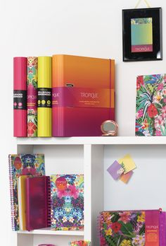 There are many different notebook styles in the Tropique collection. It's always difficult to choose just one! Manicure Set, Stationery, Notebook, Prints, Collection, Design, Style, Swag, Paper Mill