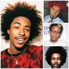 Idées coiffures pour homme aux cheveux afro : l'afro