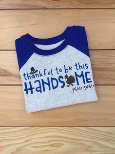 Toddler Boy Thanksgiving Shirt Thankful Shirt Thankful to be