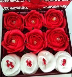 """Купить Подарок для женщины, девушки """"Кармен"""" - ярко-красный, подарок, подарок девушке, букет из конфет"""
