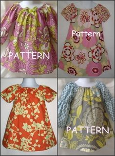 Girls Peasant Dress Tutorial   Sew Lillianne: Libby Lu Designs Peasant Dress Pattern Review and a ...