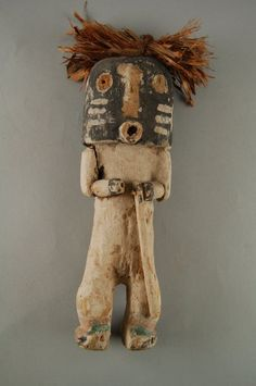 Brooklyn Museum: Arts of the Americas: Kachina Doll (Kwikwilyaka, Lapukti)