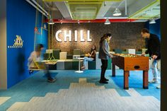 The Wave's coworking space in Hong Kong