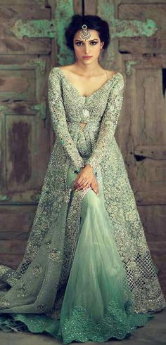 Elan bridal collection 2016 have all the luxury bridal designs that you would like to wear on your wedding day check all the traditional designs of bridal dresses in pix gallery. Pakistani Wedding Dresses, Pakistani Outfits, Indian Dresses, Indian Outfits, Pakistani Gowns, Walima Dress, Pakistani Couture, Women's Dresses, Bridesmaid Dresses