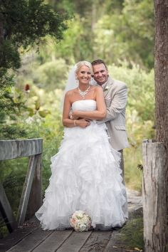 Wayne and Wendy: In the wallum at Kingfisher Bay | Photo: Inspire Photography |  #kingfisherbay #fraserisland #destinationwedding #fraserislandwedding #fraserwedding http://www.fraserislandweddings.com.au/ #AccorAustralia #Mercure