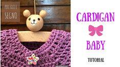 Tutorial - Cardigan Baby (3-6 mesi)