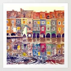 Buy Evening in Poznan by Takmaj as a high quality Art Print. Worldwide shipping available at Society6.com. Just one of millions of products available.