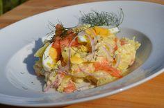Martinas Kochküche: Kartoffelsalat mit Lachs