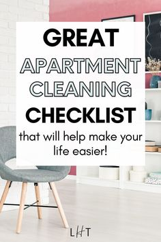 Wow! This apartment cleaning checklist is so amazing and so easy to follow. I want to keep everything organized but my place is a bit big and I just don't know where to start lol. I think learning a few cleaning hacks should resolve my problem. I'll prioritize cleaning our living room and bedroom today. Couples First Apartment, First Apartment Checklist, First Apartment Essentials, Apartment Cleaning, Bathroom Cleaning Hacks, Cleaning Checklist, House Cleaning Tips, Messy Bedroom, Apartment Decorating On A Budget