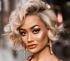 Hair Q Beauty Supply Charleston Sc My Hairstyle, Fancy Hairstyles, Short Bob Hairstyles, Wedding Hairstyles, Short Curly Hair, Short Hair Cuts, Curly Hair Styles, Hair Today, Hair Looks