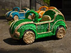 wooden vw beetle cabriolet - small toy volkswagen