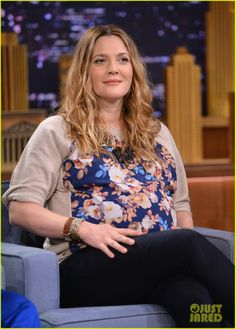 Adam Sandler Sings to Pregnant Drew Barrymore on 'Fallon'! | Adam Sandler, Drew Barrymore, Jimmy Fallon, Pregnant Celebrities Photos | Just Jared