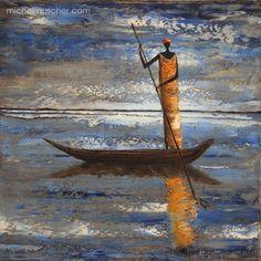 Michel RAUSCHER | Peintures - Huile sur toile - 40x40 cm -2012