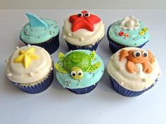 Under the Sea Cupcakes for Kids (Charity) | Flickr - Photo Sharing!