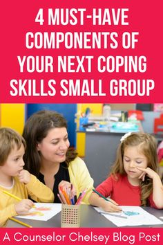 Looking for coping skills group activities for kids? Not sure what to include in your next school counseling small group? These ideas are what you need for a successful small group that will help students learn valuable coping strategies. They are great for working with students who struggle with anger management, anxiety and self-regulation. Students will understand what positive coping skills are, why they matter and how they can use them in their own lives. Coping Skills Activities, Emotions Activities, Group Activities, Activities For Kids, Group Counseling, School Counseling, Deep Breathing Exercises, Common Phrases, Positive Self Talk