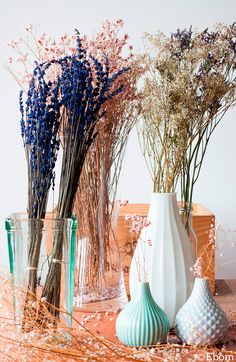 decorar con flores secas ebom ebom