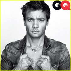 My future husband <3 I do not exaggerate when I say that I could look at Jeremy Renner all day, everyday.