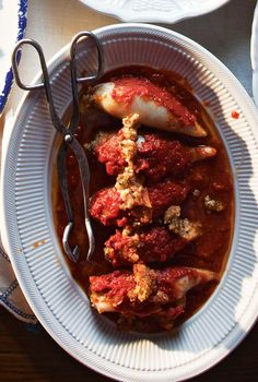 Stuffed Calamari --This flavorful dish is a Feast of the Seven Fishes favorite.