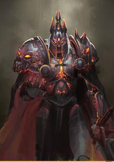 Lich King,Warcraft,Blizzard,Blizzard Entertainment,фэндомы,Warcraft art