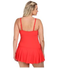 lauren-by-ralph-lauren-bright-coral-plus-size-laguna-solids-twist-shirred-skirted-slimming-fit-one-piece-pink-product-5-873041650-normal