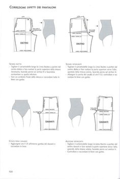 The best DIY projects & DIY ideas and tutorials: sewing, paper craft, DIY. Sewing Dress, Sewing Pants, Sewing Clothes, Diy Clothes, Techniques Couture, Sewing Techniques, Pattern Cutting, Pattern Making, Fashion Sewing