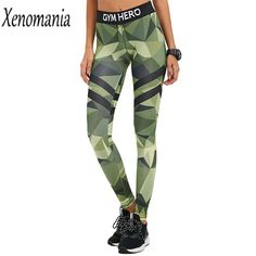 Camouflage Fitness Leggings Woman Sporting Leggings Leggins Fitness Legging Push Up 2017 Legins Adventure Time Plus Size Sexy #Affiliate