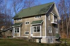Like The Siding Color For Cottage Goes With Green Roof